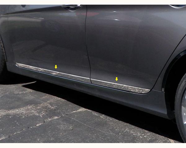 Quality Automotive Accessories 4-Piece Rocker Panel Accent Trim Kit Hyundai Sonata 2011