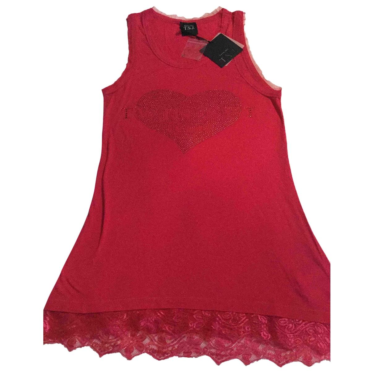 Twin Set \N Kleid in  Rosa Viskose