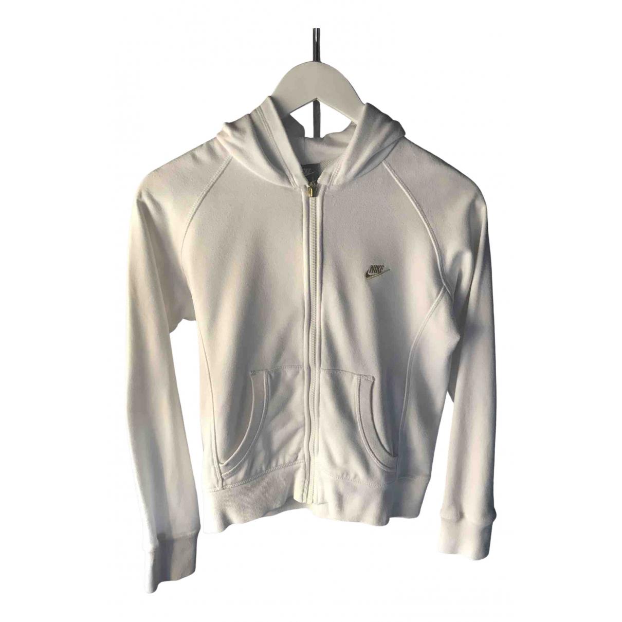 Nike N White Cotton Knitwear for Kids 12 years - XS FR