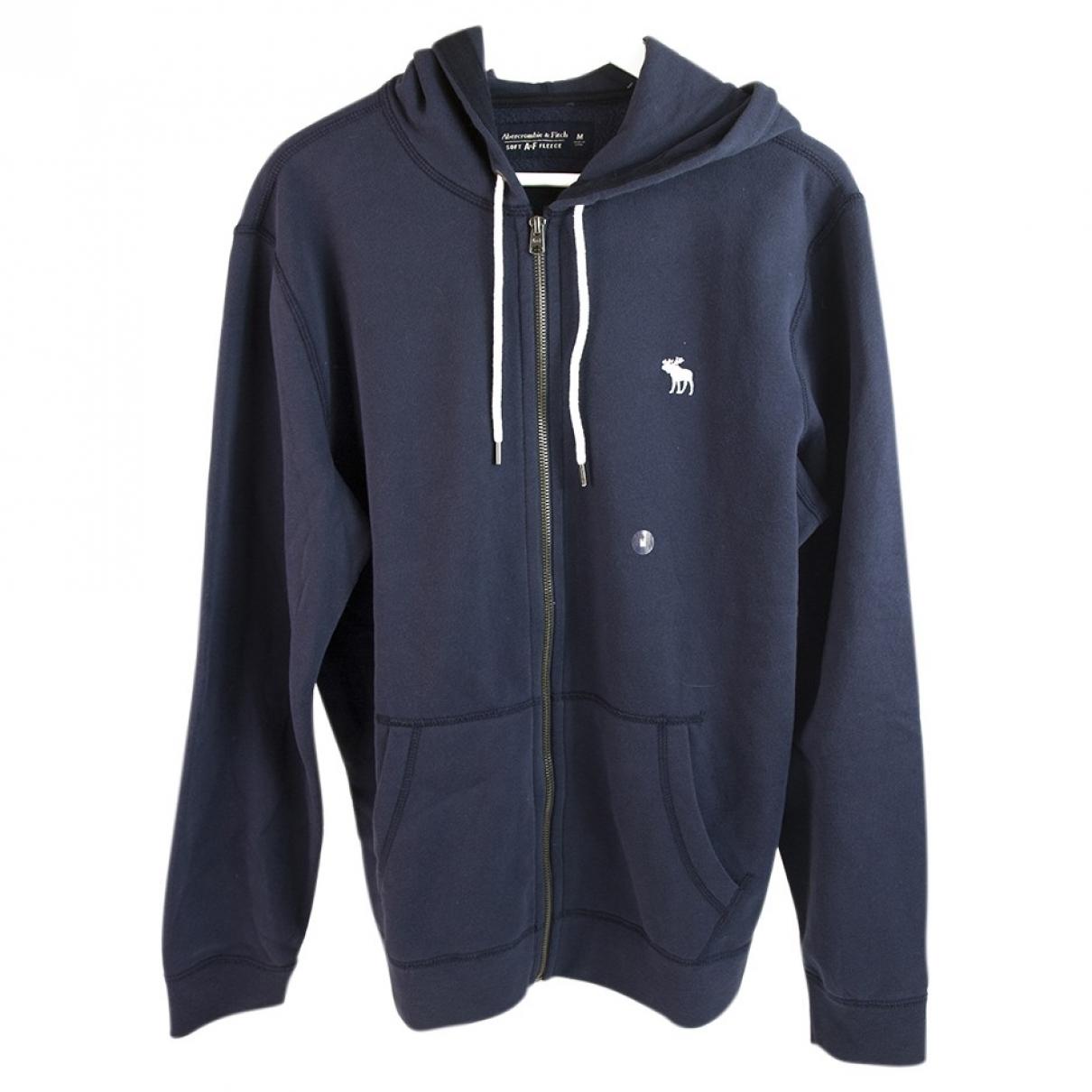 Abercrombie & Fitch \N Blue Cotton jacket  for Men M International