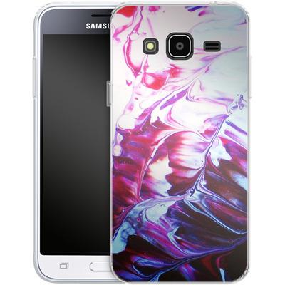 Samsung Galaxy J3 (2016) Silikon Handyhuelle - Macro 8 von Gela Behrmann