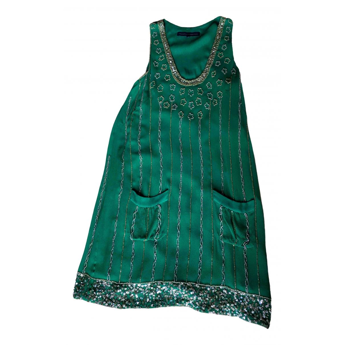 French Connection \N Green Glitter dress for Women 8 UK