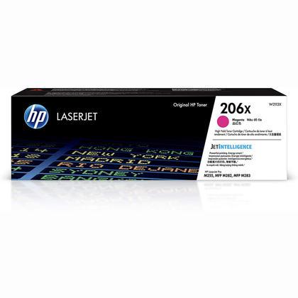 HP Color LaserJet Pro MFP M283fdw HP 206X W2113X Magenta Toner Cartridge High Yield