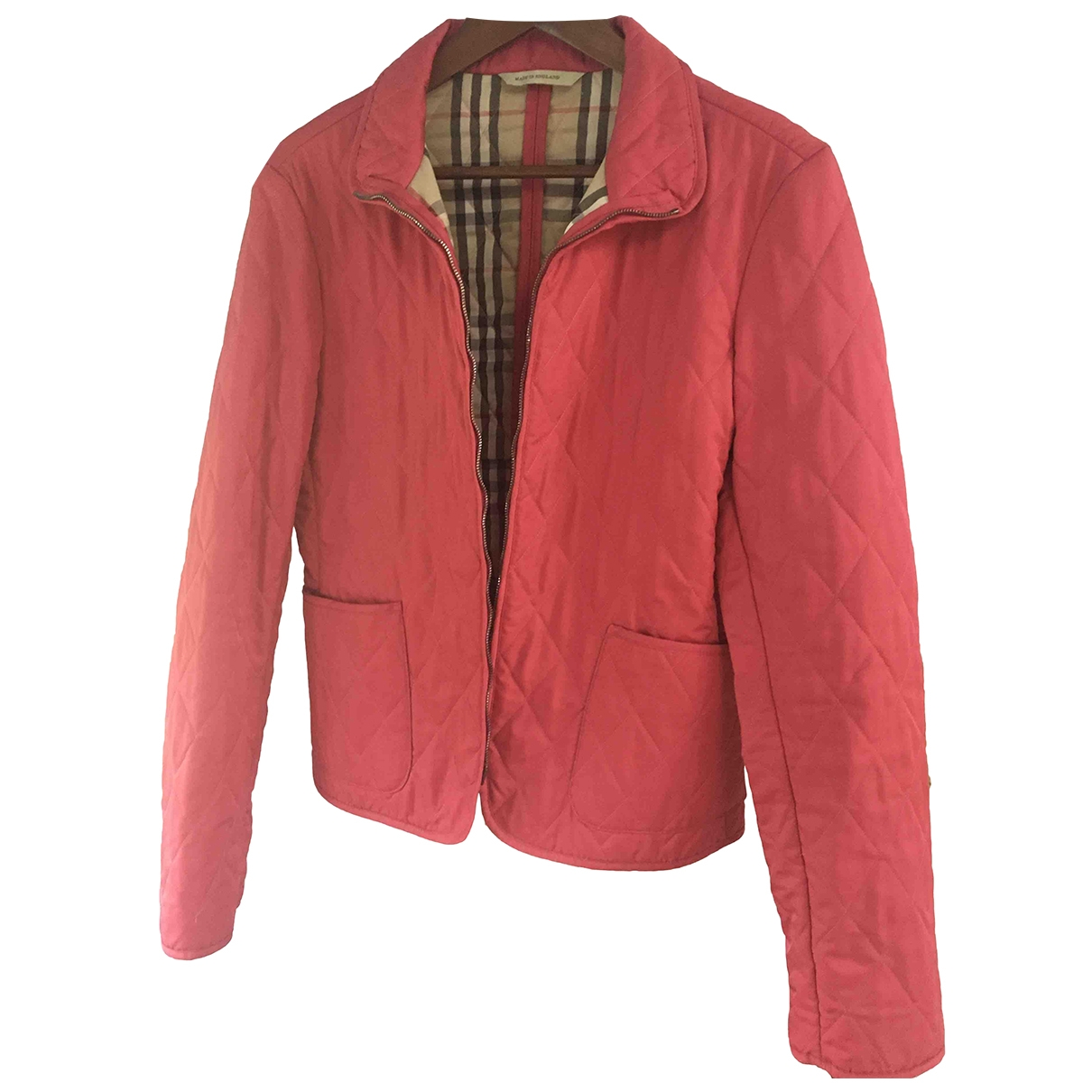 Burberry \N Pink jacket for Women M International