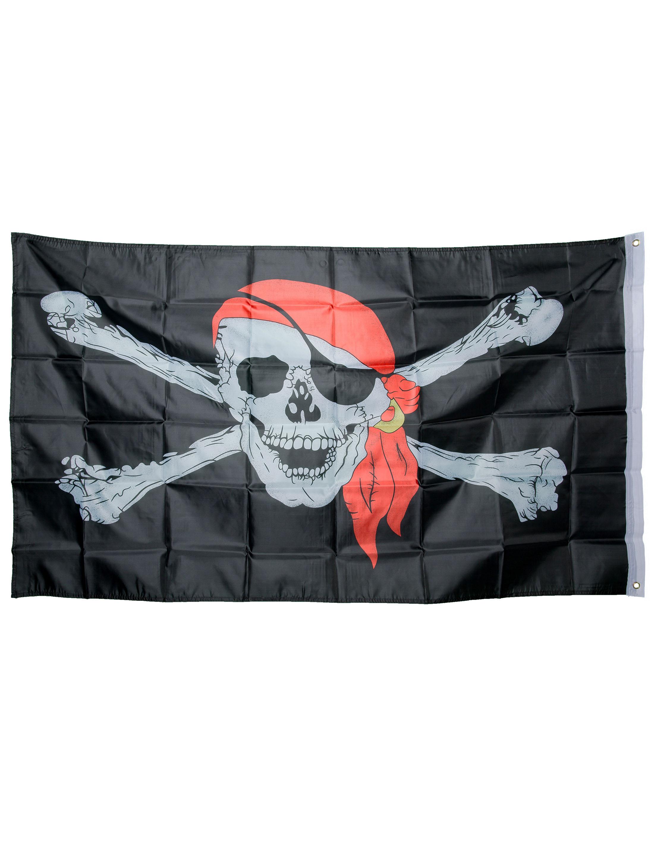 Flagge Pirat 150x90cm Farbe: schwarz