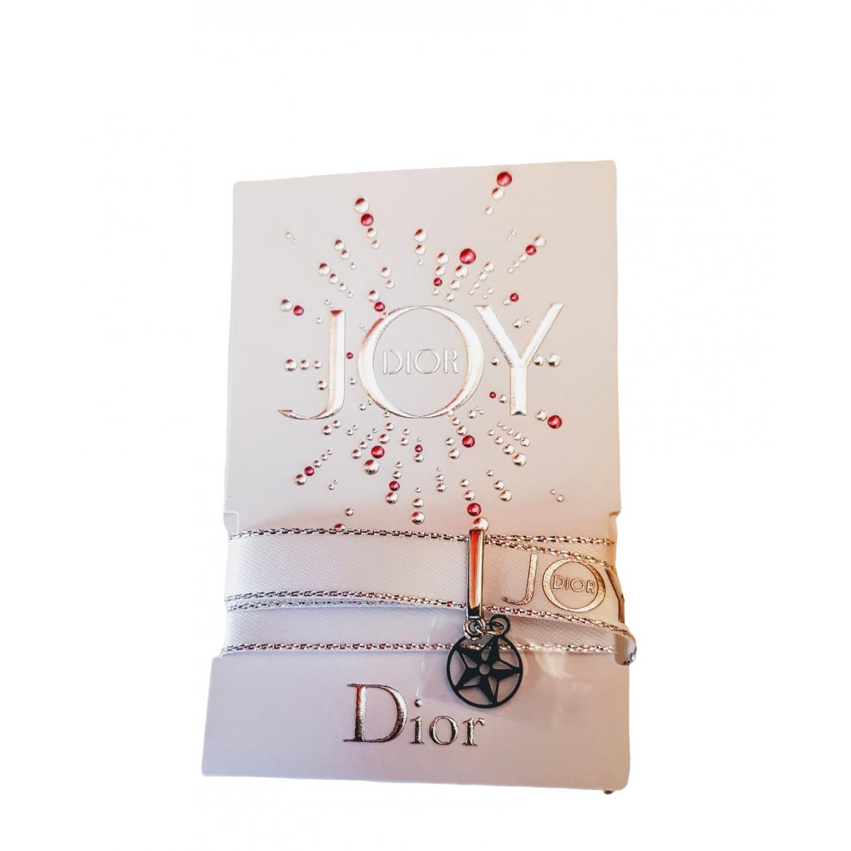 Dior \N Kette in  Weiss Leinen