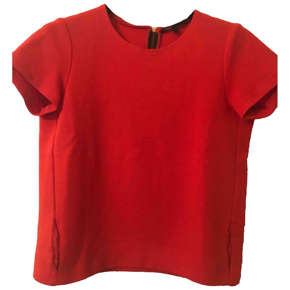 Maje \N Orange Wool  top for Women 1 US