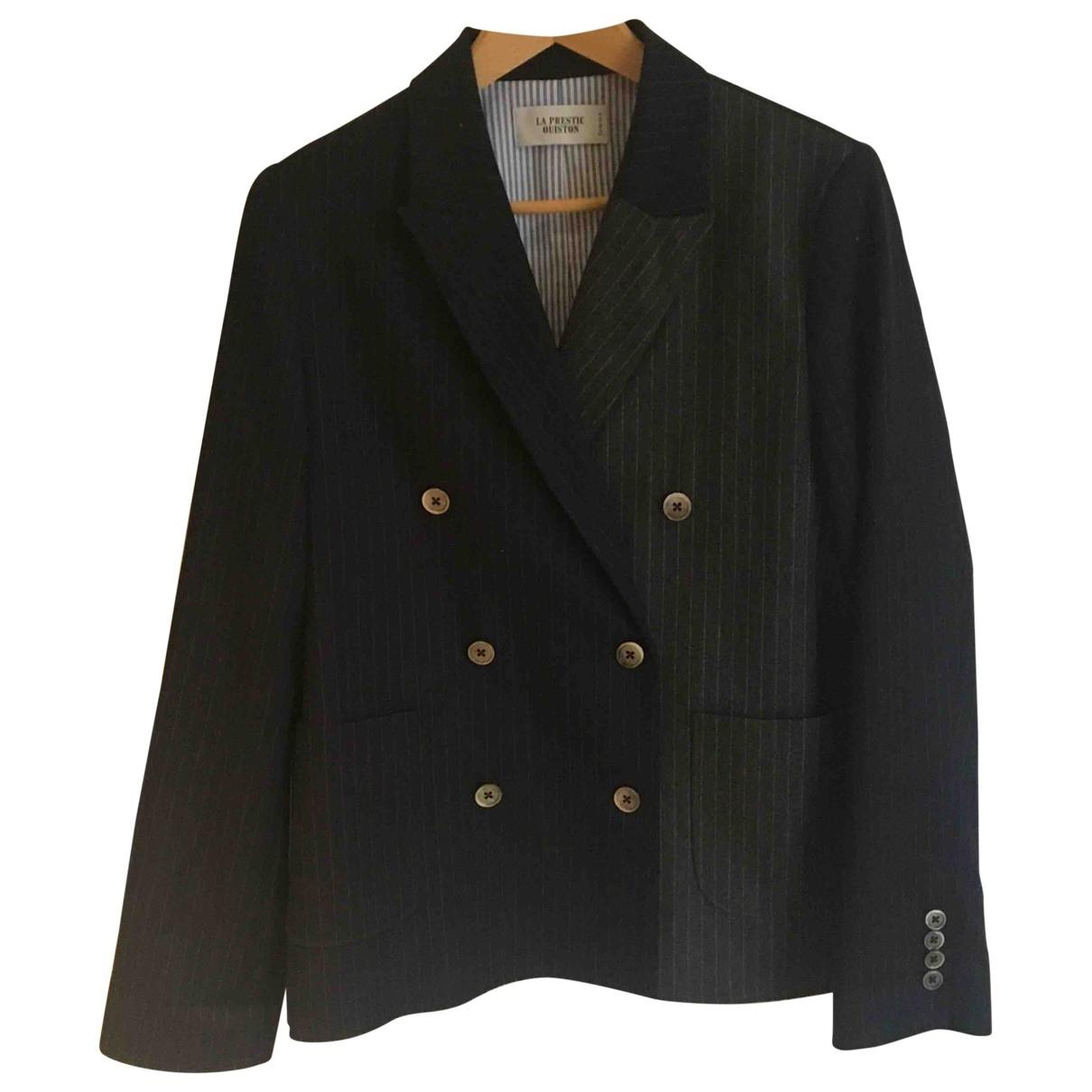 La Prestic Ouiston - Veste   pour femme en laine - multicolore