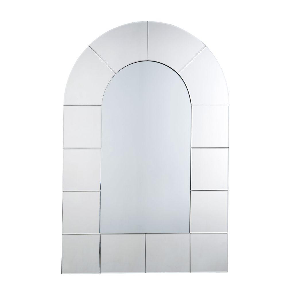 Facettierter Spiegel in Fensteroptik 80x120