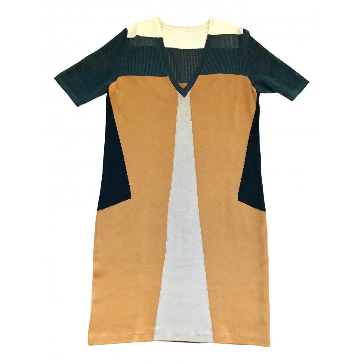 Proenza Schouler \N Kleid in  Bunt Baumwolle
