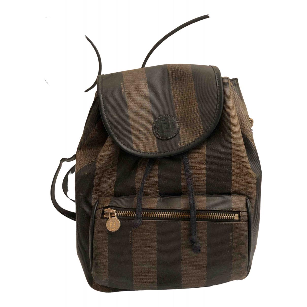 Fendi \N Cloth backpack for Women \N