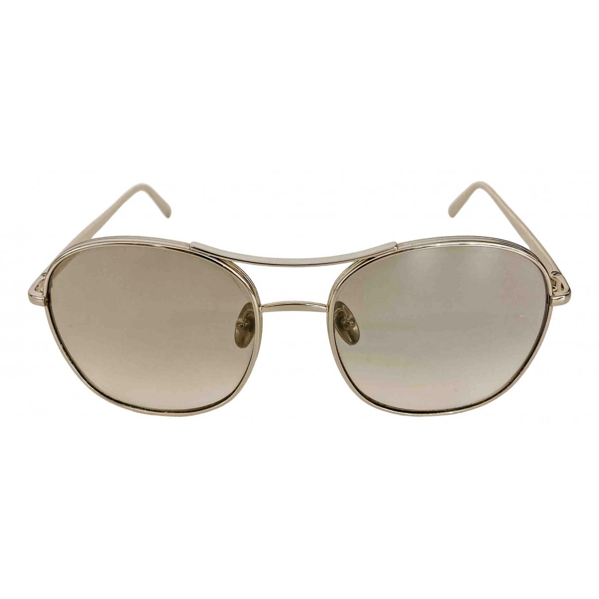 Chloé \N Gold Metal Sunglasses for Women \N