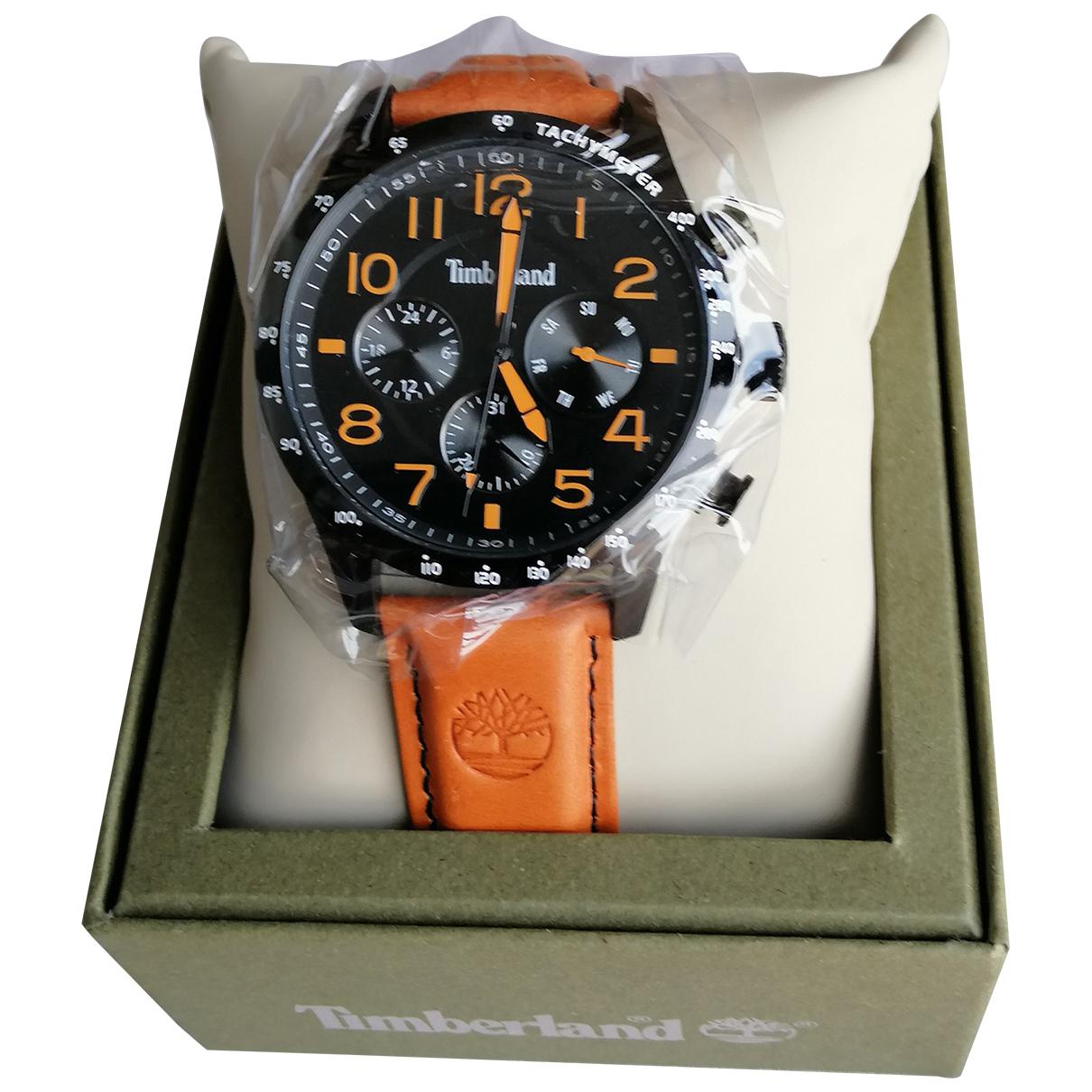 Timberland \N Uhr in  Orange Stahl