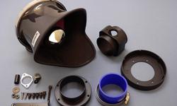 GruppeM FRI-0313 Carbon Fiber Ram Air Intake System BMW Z4 E85/E86 2.5/3.0 06-09
