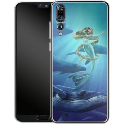 Huawei P20 Pro Silikon Handyhuelle - Ocean Song von Selina Fenech