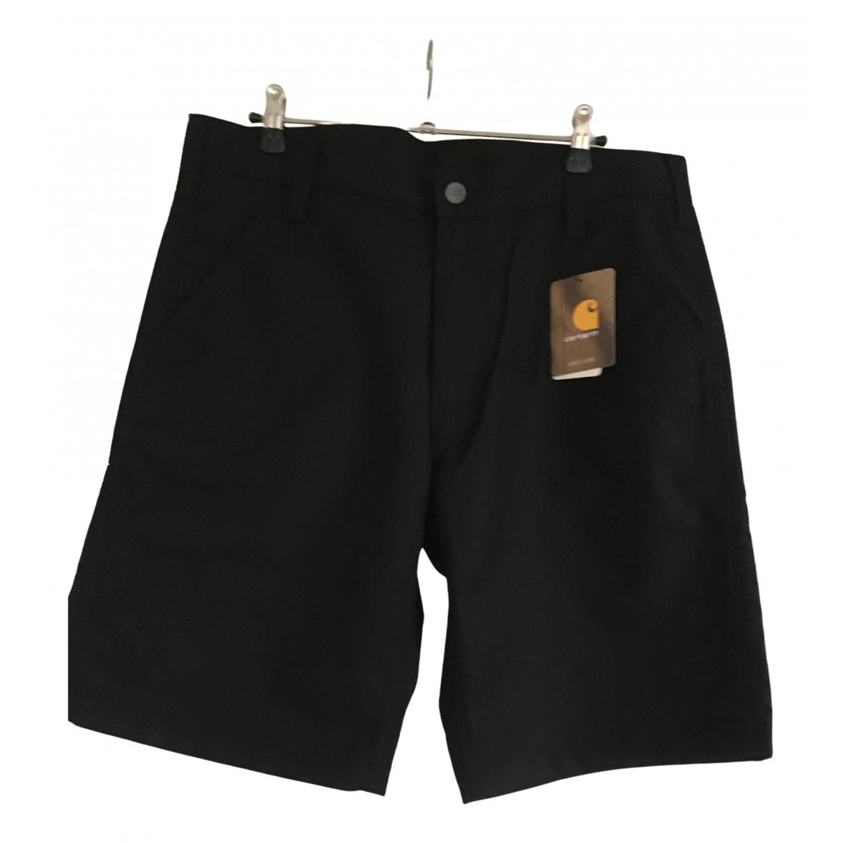 Carhartt \N Shorts in  Schwarz Baumwolle