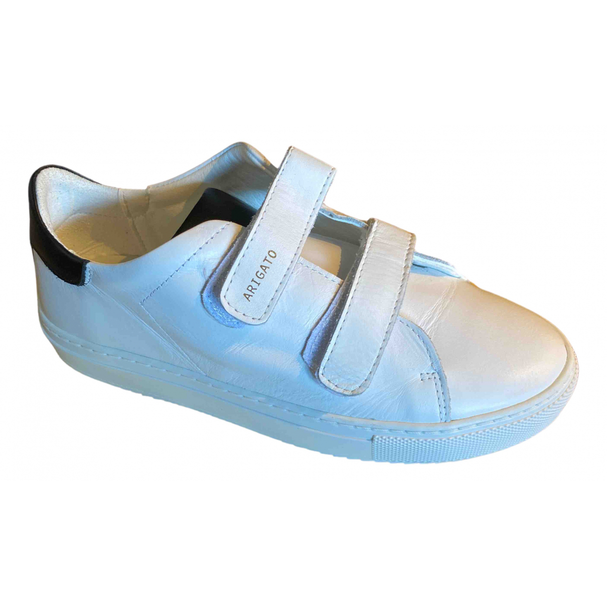 Axel Arigato N White Leather Trainers for Kids 2 UK