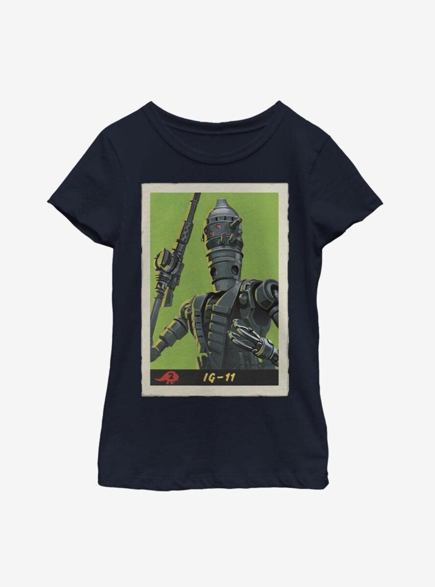 Star Wars The Mandalorian IG-11 Poster Youth Girls T-Shirt