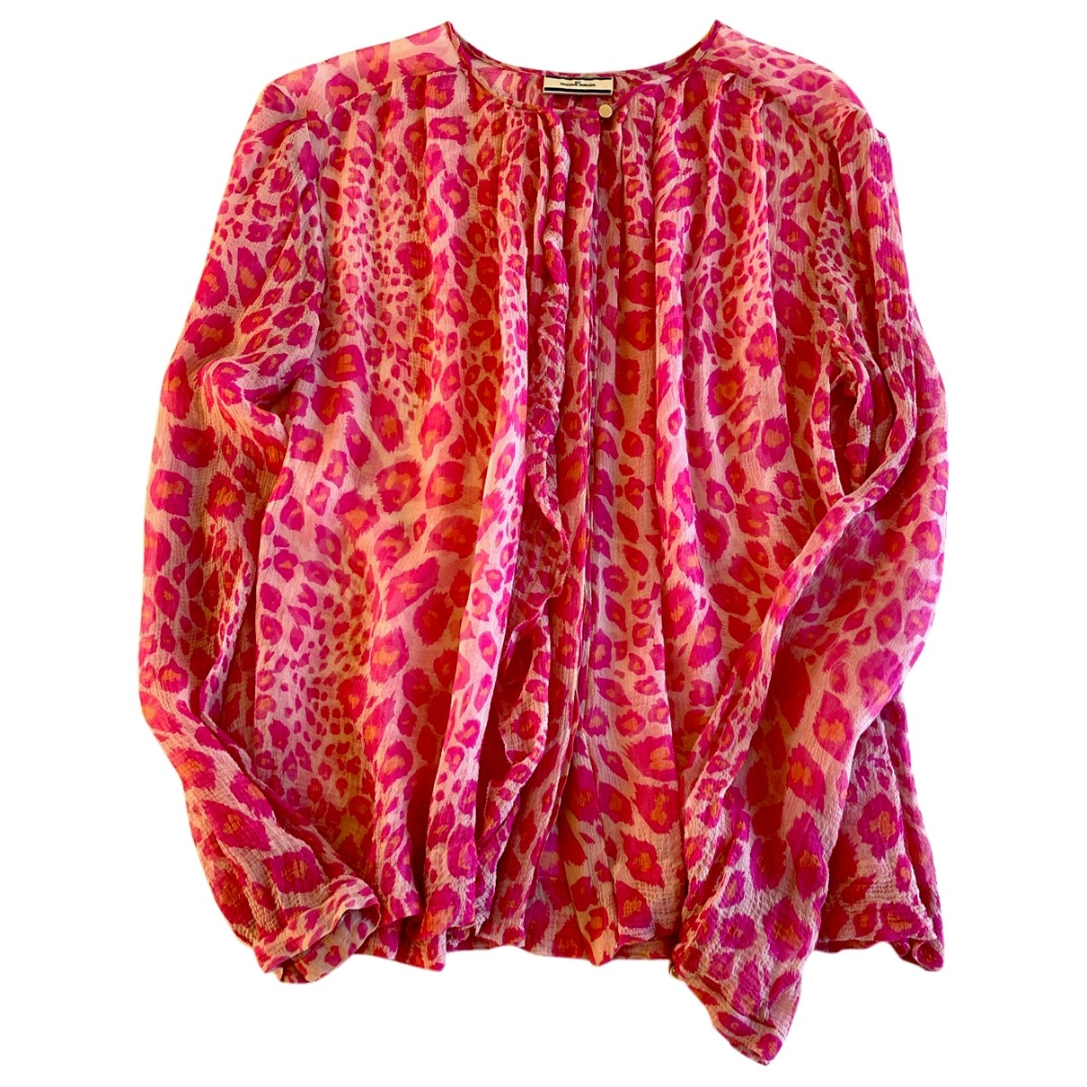 By Malene Birger \N Pink Silk  top for Women 38 FR
