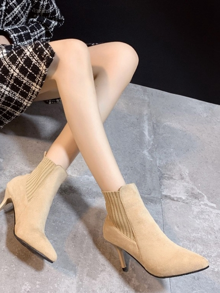 Yoins Pointed Stiletto Boots