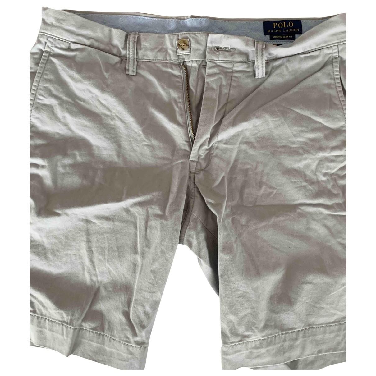 Polo Ralph Lauren \N Shorts in  Grau Baumwolle