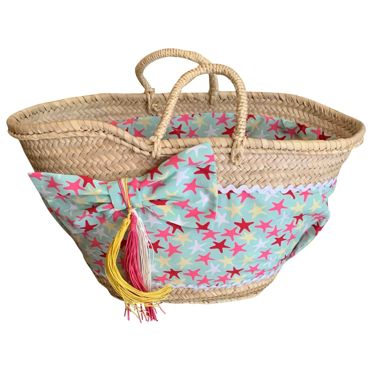 Non Signé / Unsigned \N Wicker bag & Pencil cases for Kids \N