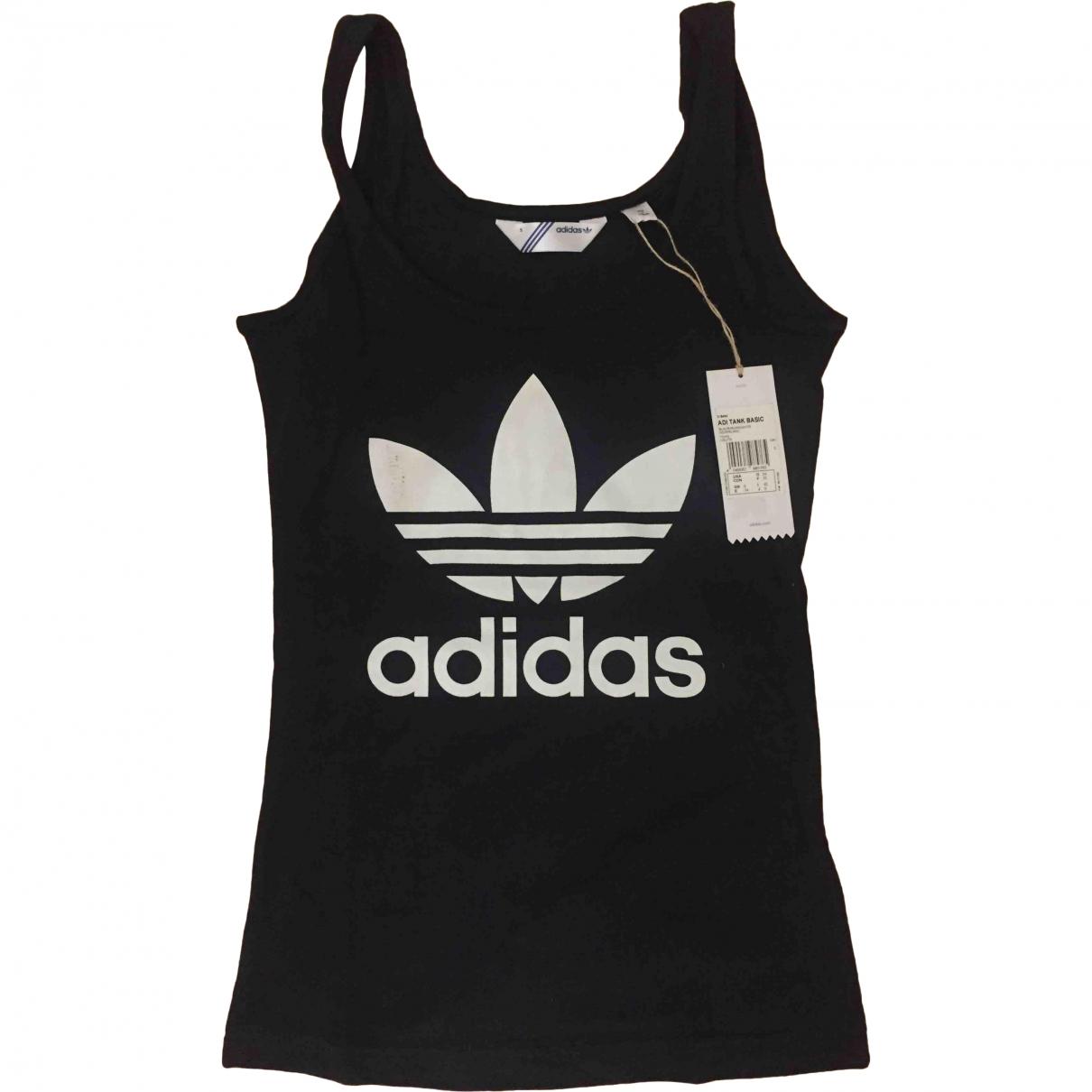 Adidas \N Black Cotton  top for Women S International
