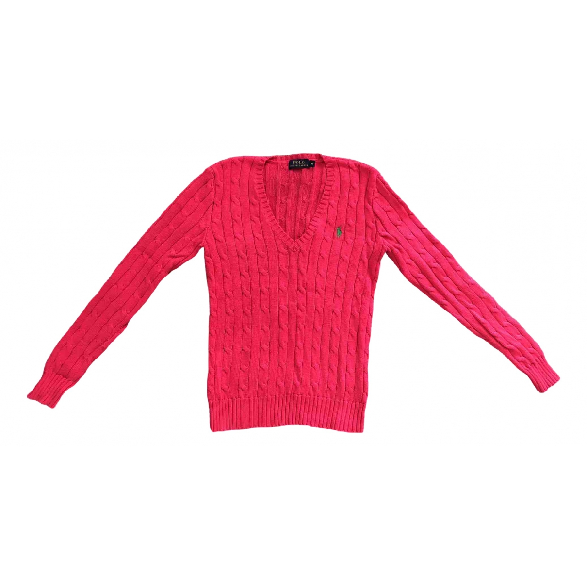 Polo Ralph Lauren \N Pullover in  Rosa Baumwolle