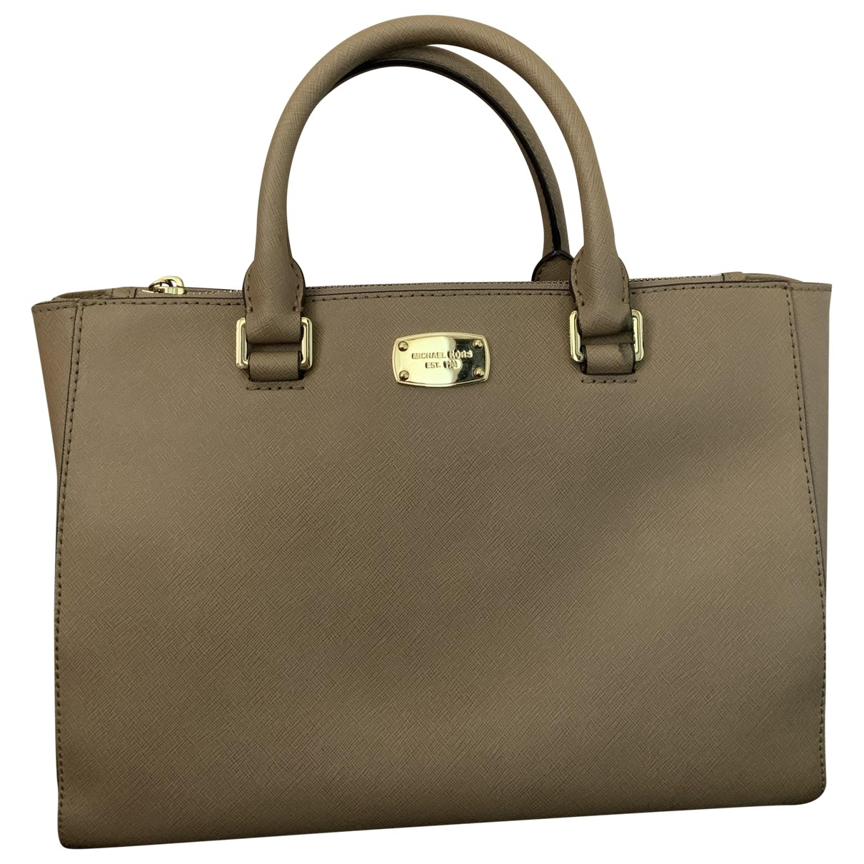 Michael Kors Savannah Beige Leather handbag for Women \N