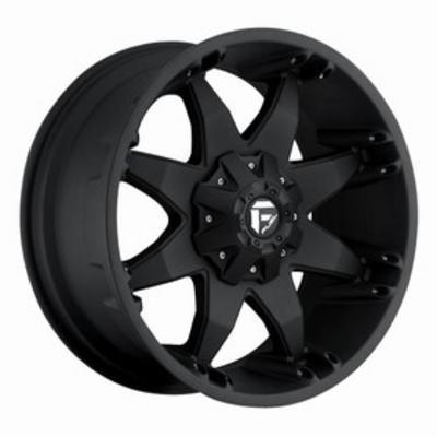 MHT Fuel Offroad D509 Octane, 20x9 Wheel with 8 on 6.5 Bolt Pattern - Black - D5092908255