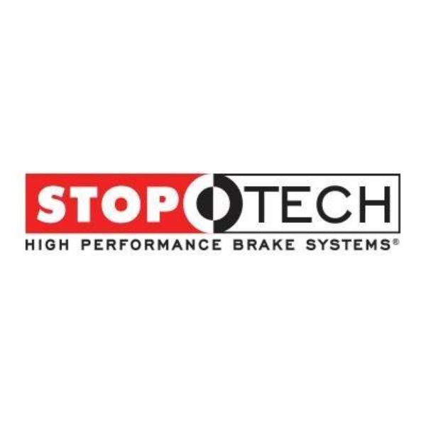 StopTech 227.42081L Select Sport Drilled and Slotted Brake Rotor; Rear Left