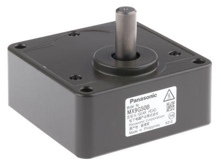 Panasonic Spur Gearbox, 50:1 Gear Ratio, 9.8 Nm Maximum Torque, 27rpm Maximum Speed