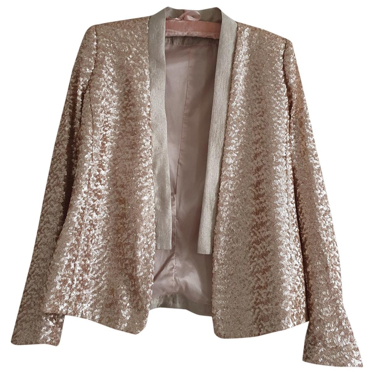 Impérial \N Gold Glitter jacket for Women 38 FR