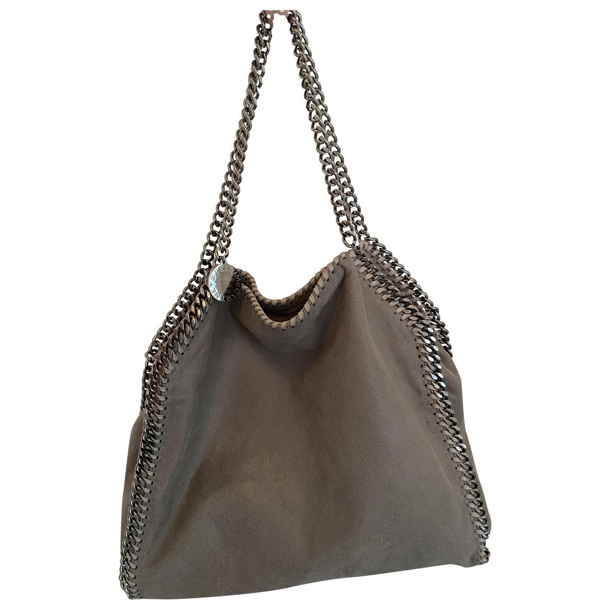 Stella Mccartney Falabella Grey Cloth handbag for Women \N