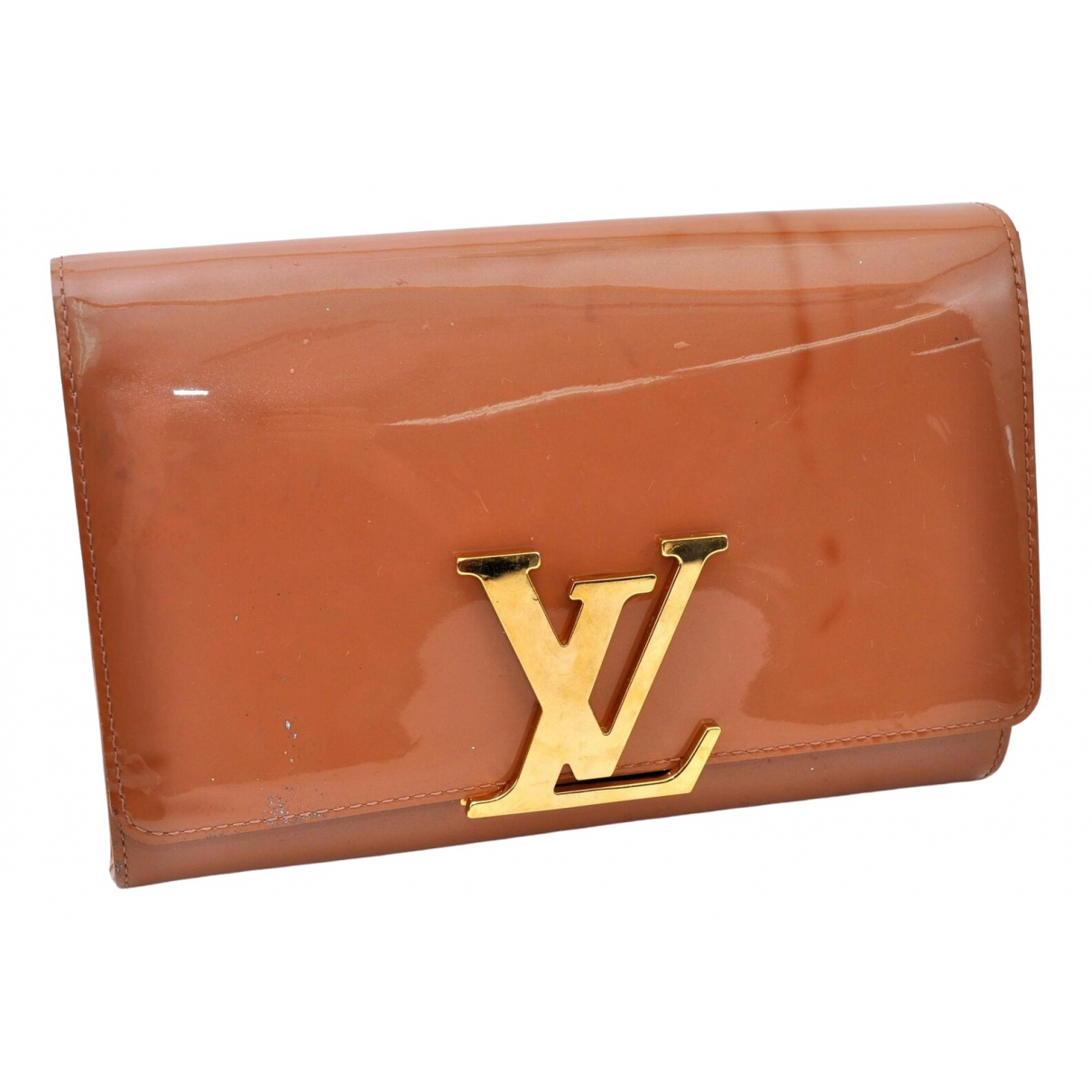Louis Vuitton \N Beige Patent leather Clutch bag for Women \N