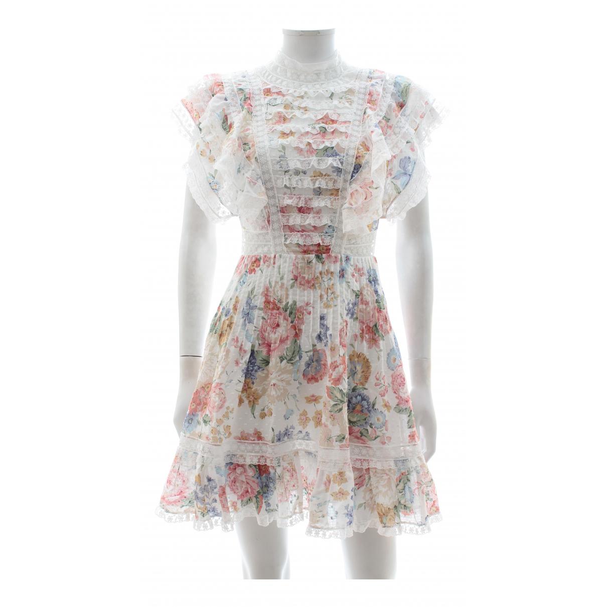 Zimmermann \N Multicolour Cotton dress for Women 0 0-5