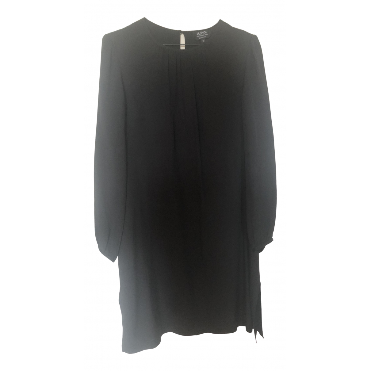 Apc \N Kleid in  Schwarz Viskose