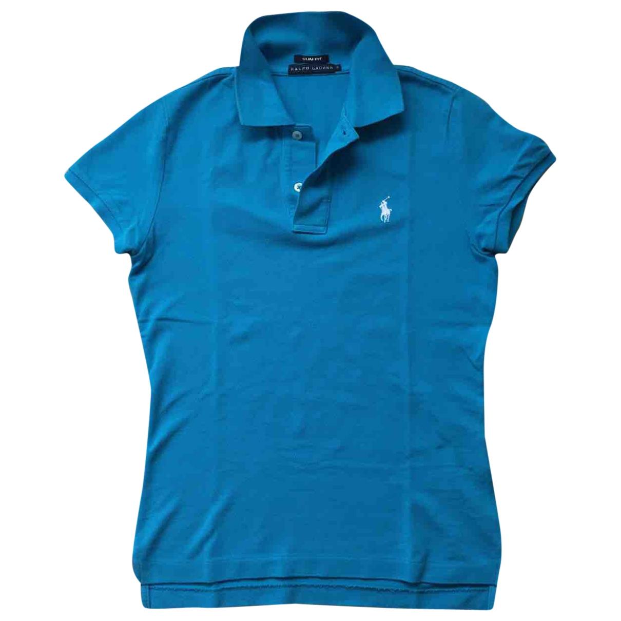 Ralph Lauren \N Top in  Blau Baumwolle