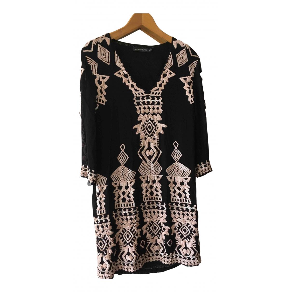 Antik Batik - Robe   pour femme - noir