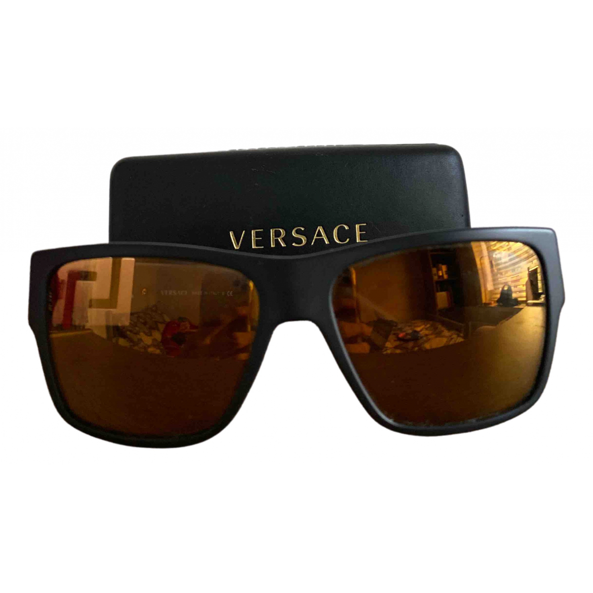 Versace - Lunettes   pour homme - noir