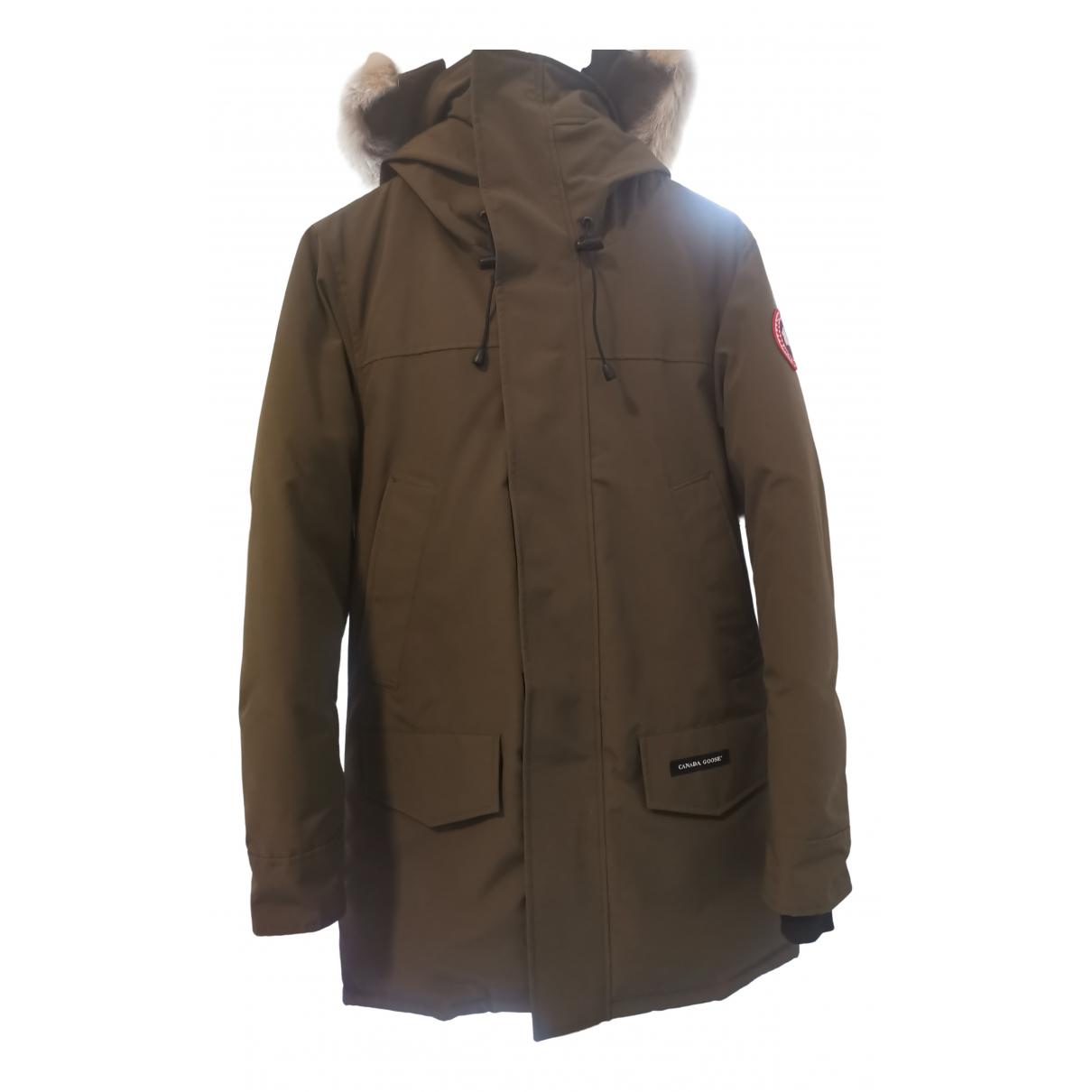 Canada Goose - Manteau   pour homme en velours - vert