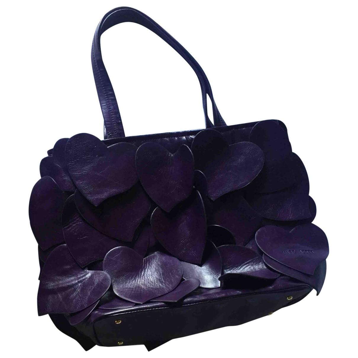 Marc Jacobs - Sac a main   pour femme en cuir - violet