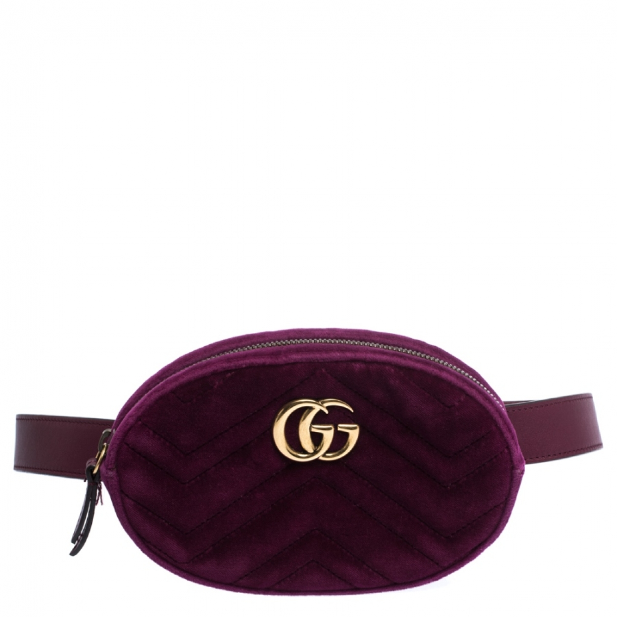 Gucci - Sac a main   pour femme en velours - violet