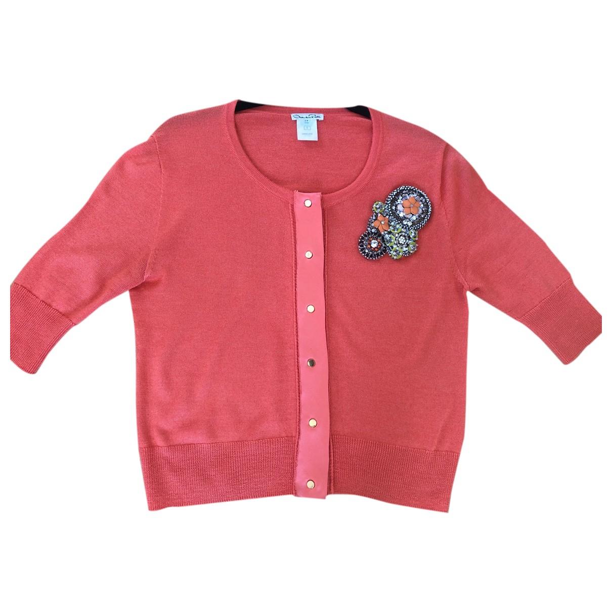Oscar De La Renta \N Orange Cashmere Knitwear for Women S International