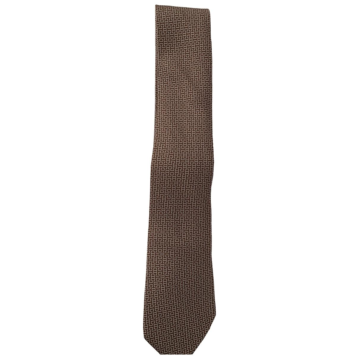 Hermes - Cravates   pour homme en soie - violet