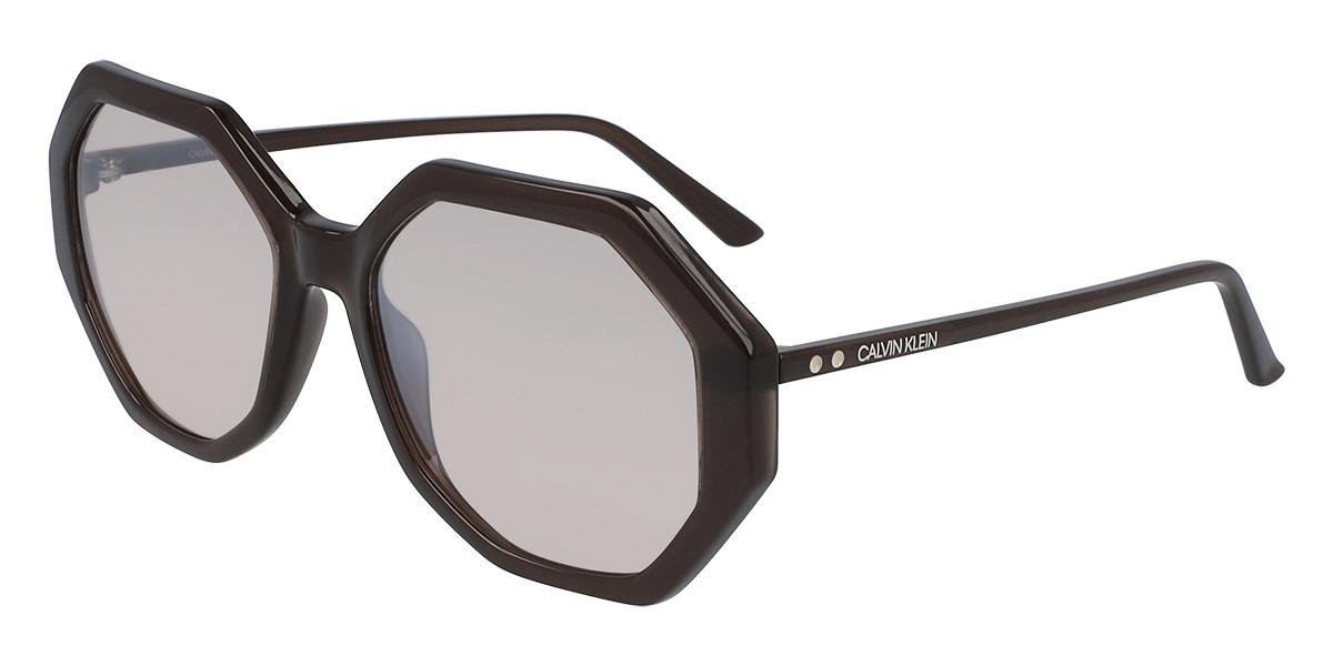 Calvin Klein CK19502S 201 Women's Sunglasses Brown Size 55