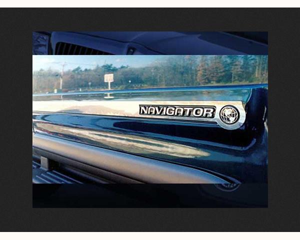 Quality Automotive Accessories 8-Piece Rocker Panel Accent Trim Kit Lincoln Navigator 1999