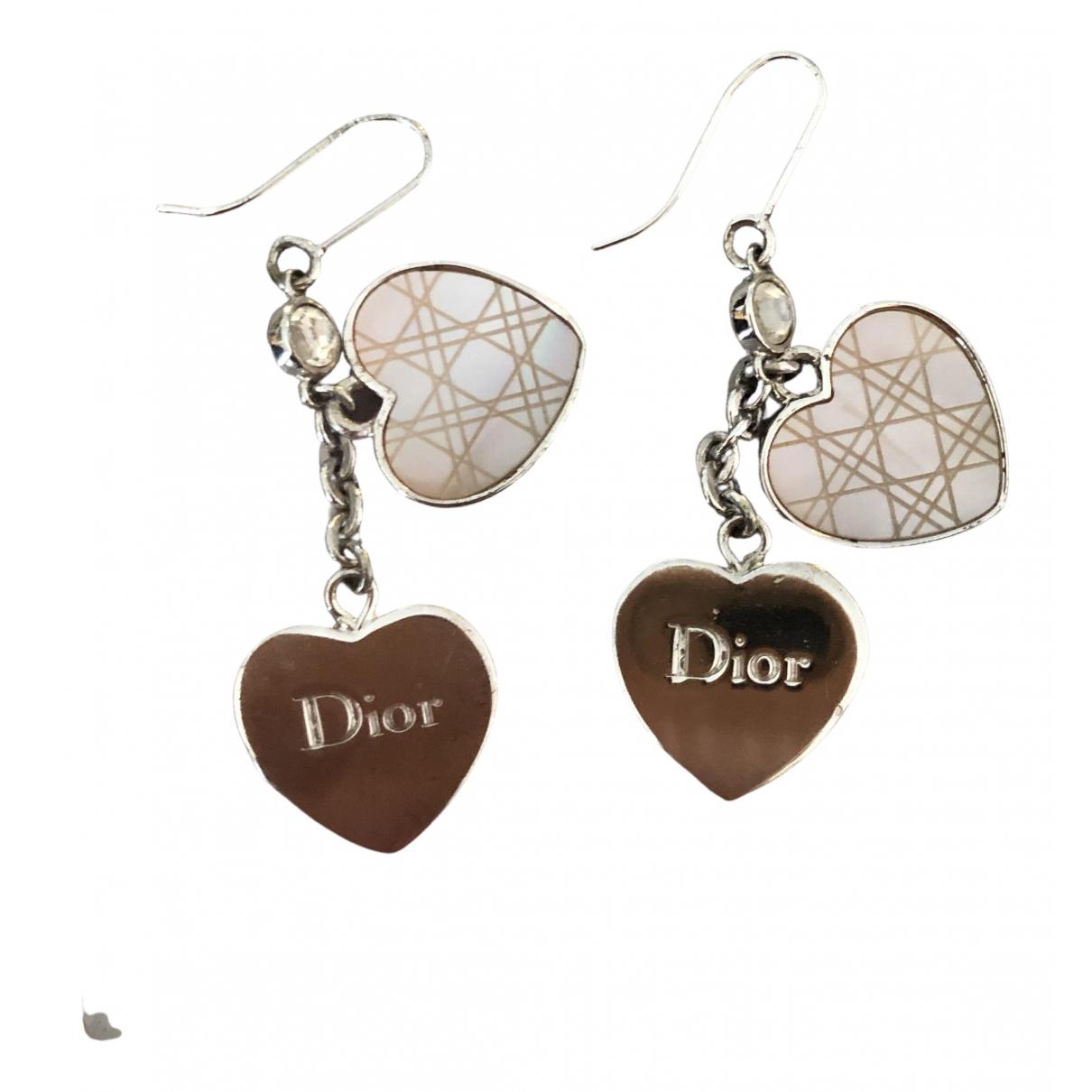 Dior - Boucles doreilles   pour femme en argent - argente
