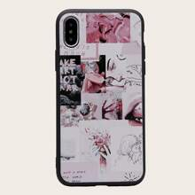 1pc Abstract Pattern iPhone Case