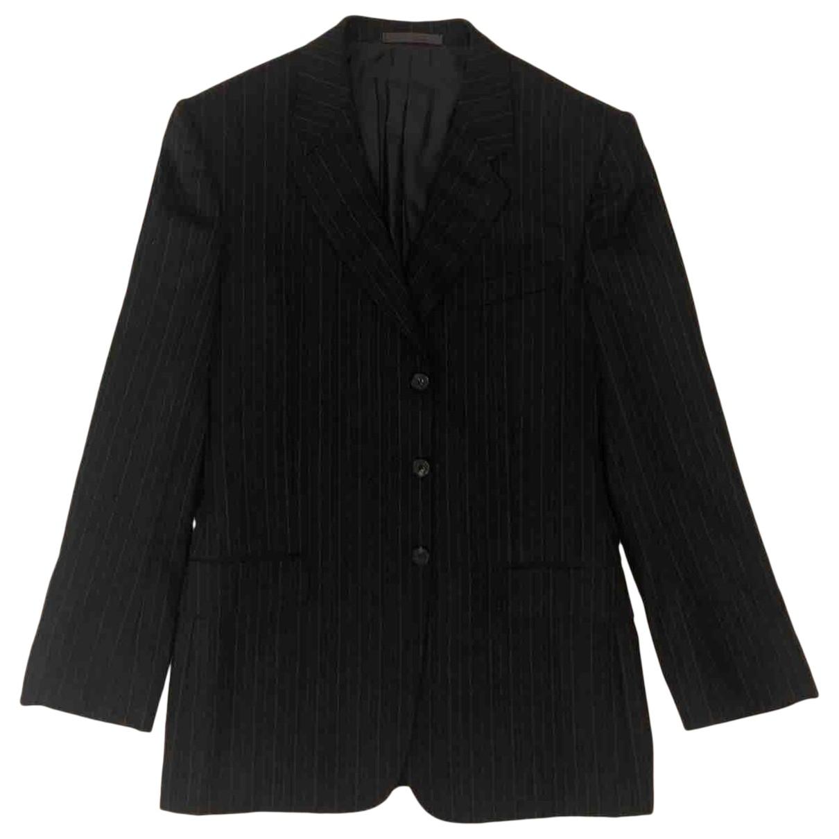 Yves Saint Laurent \N Grey Wool Suits for Men 52 IT
